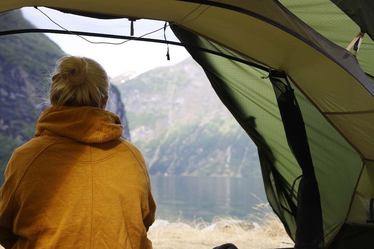 fjällräven abisko view 2 -teltta
