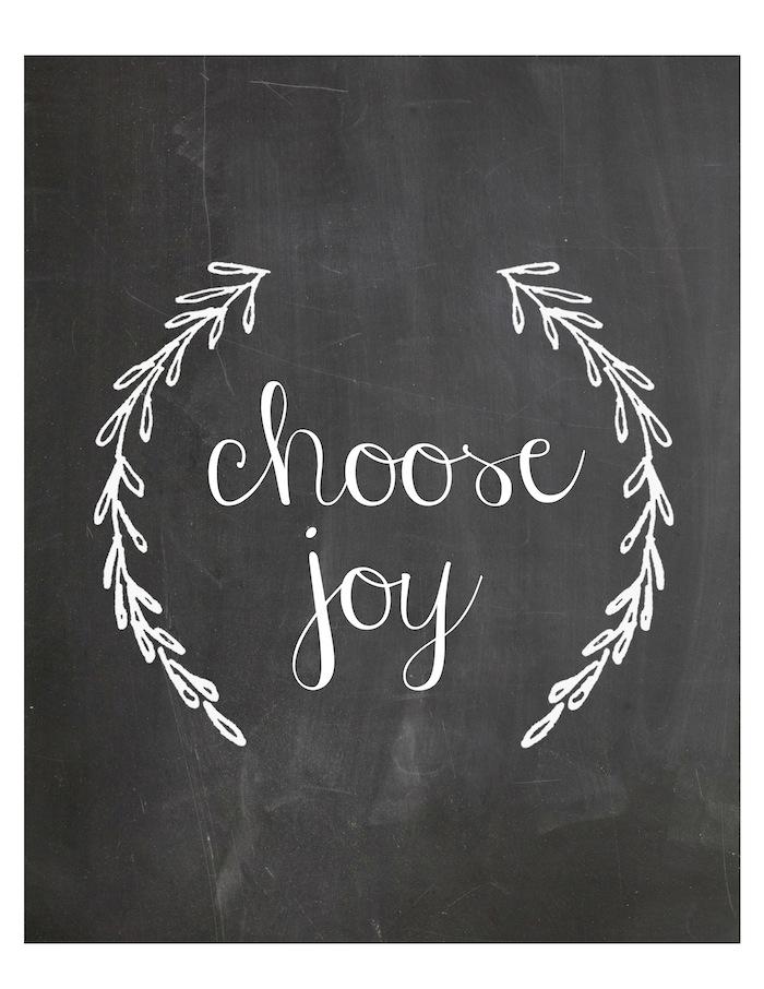 Choose Joy Printable 8x10
