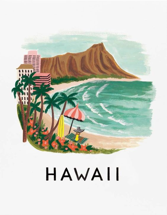 hawaii-drawing